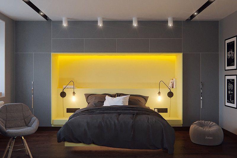 dormitorio-moderno-gris