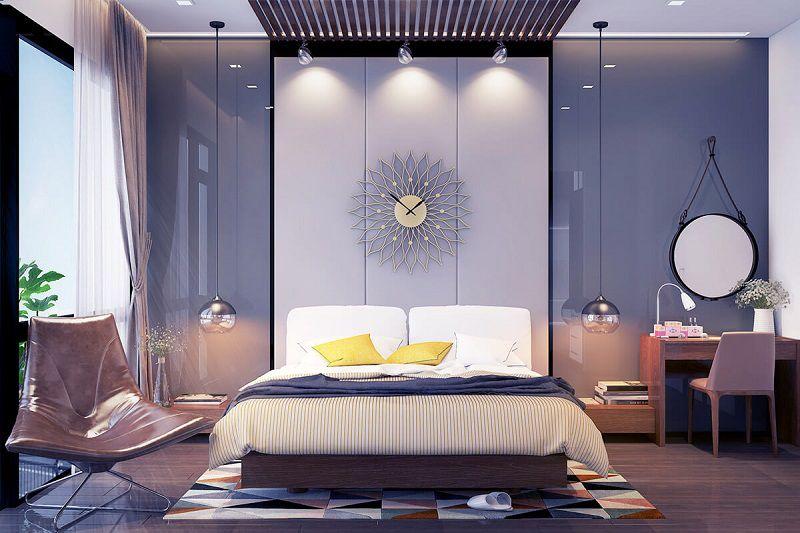 25 Elegantes dormitorios de matrimonio en tonos grises ...