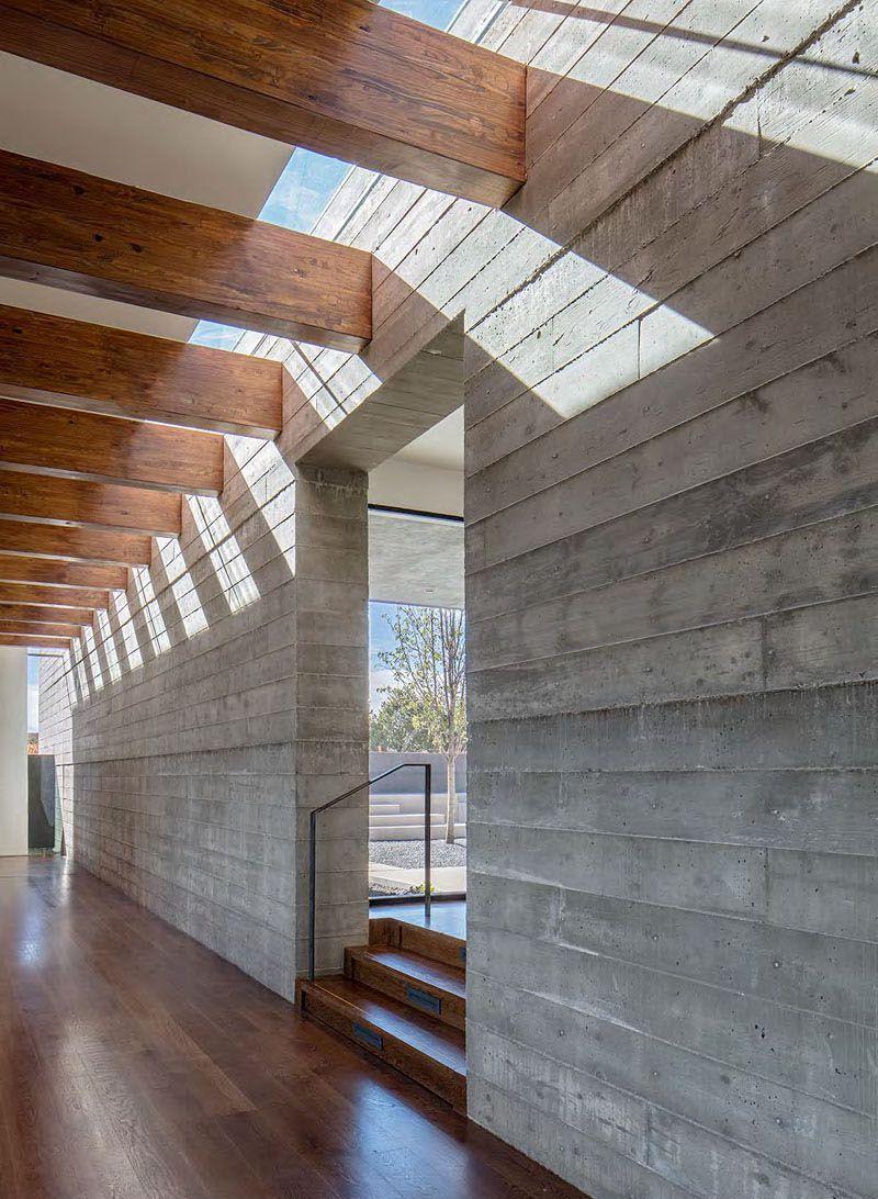 Casa de hormig n en el desierto de nuevo m xico arquitexs for Casas modernas hormigon visto