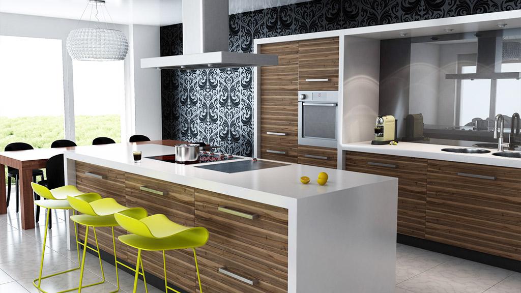 Cocinas de diseño modernas ⭐ Nuevas tendencias 2019 - 2020
