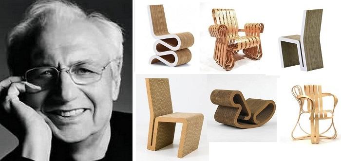 Frank Gehry-diseño-del-mueble