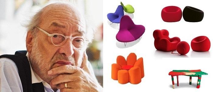 Gaetano Pesce diseño de muebles