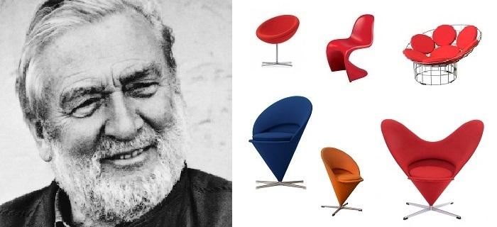 Verner Panton-diseño-del-mueble