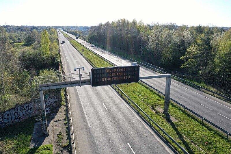 Francia carreteras ciudades vacías por coronavirus