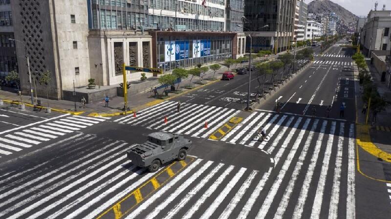 Lima peru ciudades vacías por coronavirus